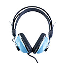 Kanen km-740 cuffie stereo alla moda (blu)