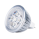 Buy 4W GU5.3(MR16) LED Spotlight MR16 4 High Power 360 lm Warm White DC 12 V