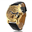 Men's Watch Auto-Mechanical Elegant Hollow Engraving Cool Watch Unique Watch