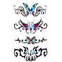 5 Pcs Butterfly Waterproof Temporary Tattoo(17.5cm*10cm)