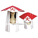 Buy Hat/Cap Inspired Naruto Hokage Anime Cosplay Accessories Cap / Hat White Red Cotton Female