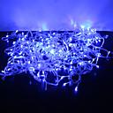 30m 300-led blauw licht 8 sprankelende modi geleid fee koord lamp voor kerst (220v)