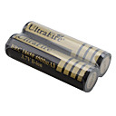 UltraFire BRC 18650 3.7В 4000мАч Li-ion аккумуляторы (2 штуки, под золото)
