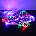 Buy 1M 120-LED Colorful Light 8 Sparking Modes Spider Web Shaped String Fairy Lamp (220V)