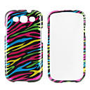 Colorful Stripe Pattern Hard Case for Samsung Galaxy S3 I9300 (Multi-color)