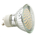 GU10 3W 60 SMD 3528 230 LM Warm White / Natural White MR16 LED Spotlight AC 220-240 V