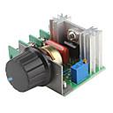 2000W Adjustable 90~220V Voltage Regulator for Dimming Light Lamps Speed Control (220V)