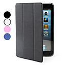 PU Leather Case med stativ for iPad Mini (Assorterte farger)