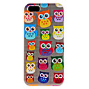 Cute Owl Pattern Hard Case for iPhone 5/5S