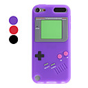 Cas de conception Game Boy souple pour iTouch 5 (couleurs assorties)