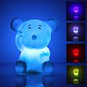 מנורת לילה לד חמודה ומקסימה בצורת עכבר (3xLR44)
