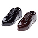 Mini Man's Leather Shoe Sytle Windproof Gas Lighter (Random Color)