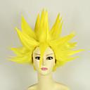 Buy Cosplay Wigs Dragon Ball Vegeta Yellow Short Anime 35 CM Heat Resistant Fiber Male