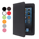 Simple Design PU Leather Case w/ Stand for iPad mini 3, iPad mini 2, iPad mini (Assorted Colors)