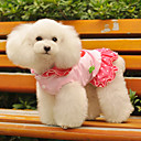 Lovely Strawberry Pattern Dresses with Hoodie for Dogs (Assorted Color,XS-XL)