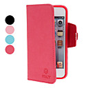 Söpö Grass Pattern PU Leather Case for iPod Touch 5 (Assorted Colors)