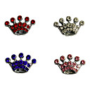 Crown Shape Stylish Decoration Charm for DIY Collar (Assorted Color)