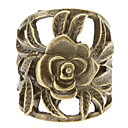 Palauttaminen Ancient Ways Hollow Flower Ring