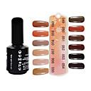 UV Color Gel Soak Off Nail Polish(15ml,Assorted Colors,No.49-60)