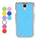 Starry Sky Pattern Hard Case with Rhinestone for Samsung Galaxy S4 I9500 (Assorted Colors)