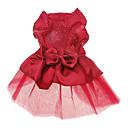 Diamanten besetzte Prinzessin Hochzeitskleid für Hunde (mehrfarbigen, XS-XL)