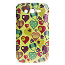 Heart Pattern Noctilucent Hard Case for Samsung Galaxy I9080/I9082