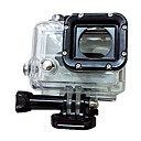 Black and Transparent Water-Proof Side Opening Compatible Camera Models GoPro Hero 3