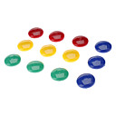 2cm Colorful Rounded Magnet (12pcs)