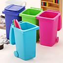 titular de escritorio pluma patrón de cubo de basura (colores aleatorios)