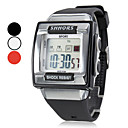 Men's Watch Sports Watch LCD Multi-Function Square Dial Shock Resistant