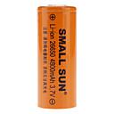 Small Sun 26650 3.7V 4800mAh Rechargeable Li-ion Batteries