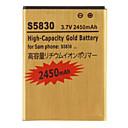2450mAh Akku für Samsung Galaxy Ace S5830