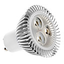 GU10 4.5 W 3 High Power LED 320 LM Warm White MR16 Spot Lights AC 100-240 V