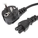 Buy Power Cable Standard EU Extension Black(1.2M)