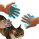 Rubber Glove Grooming Cleaning Brush Comb for Dogs