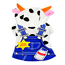 Cute Mummy Cow Style Overall Dress for Pets Dogs (Assorted Sizes)