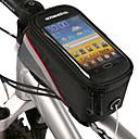 ROSWHEEL Nouveau design 4.2 pouces Sac avant de bicyclette avec PVC transparent palpable écran de téléphone mobile