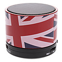 S10 British Flag Mini Bluetooth Speaker with TF Port for Phone/Laptop/Tablet PC