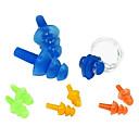 Clip nas și Dopuri de protecție auditivă pentru înot (Random Color)