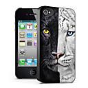 cat mønster 3d effekt sak for iphone4/4s