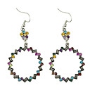 Fashion Bohemia Circle Earrings