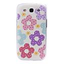 móda malé čerstvý florals vzor plastové pouzdro pro Samsung Galaxy S iii/i9300