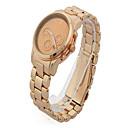 Men Wristwatch Stainless Steel Watch Shiny Quartz Round Dial