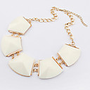 European Style Irregular Geometry Square Choker Necklace(Assorted Color)