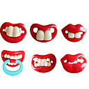 Funny Teeth Personality Pacifier Soother Nipple