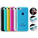 Color sólido TPU Funda para iPhone 5C (colores surtidos)