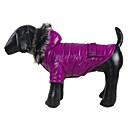 Schöne glatte warme Mantel mit Kapuze für Haustiere Hunde (verschiedene Farben, Größen)