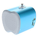 Portable Mini Speaker with FM Radio/TF Card Slot(Blue)