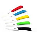 4 cuchillo de cerámica de la legumbre de fruta