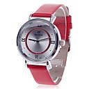 daybird 3803 Fashion Women's Quartz Wrist Watch -Red + Silver